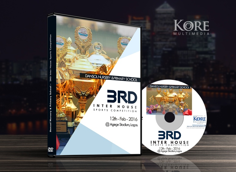 DVD packaging lagos nigerian secondary school iinter-house-sport1